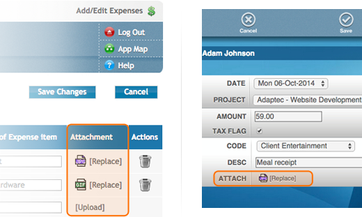 Expense Attachments with Manager Review & Approval